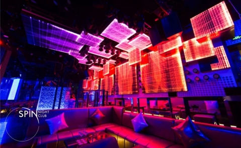 SPIN NIGHT CLUB & Betterway Focus on Entertaiment and Architecture Lighting